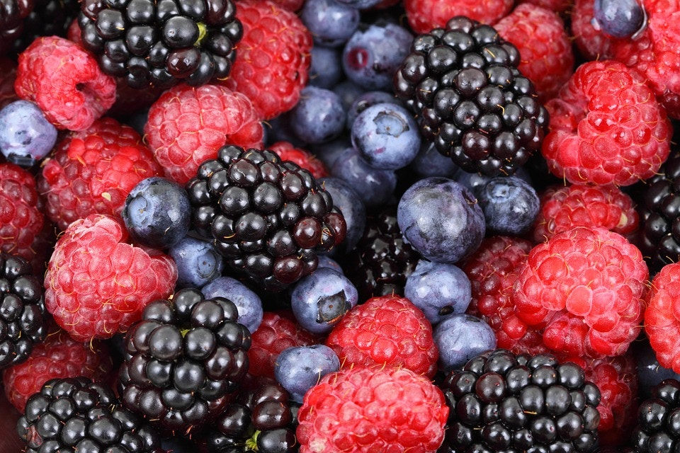 Summer Berries for a Yummy Smoothie
