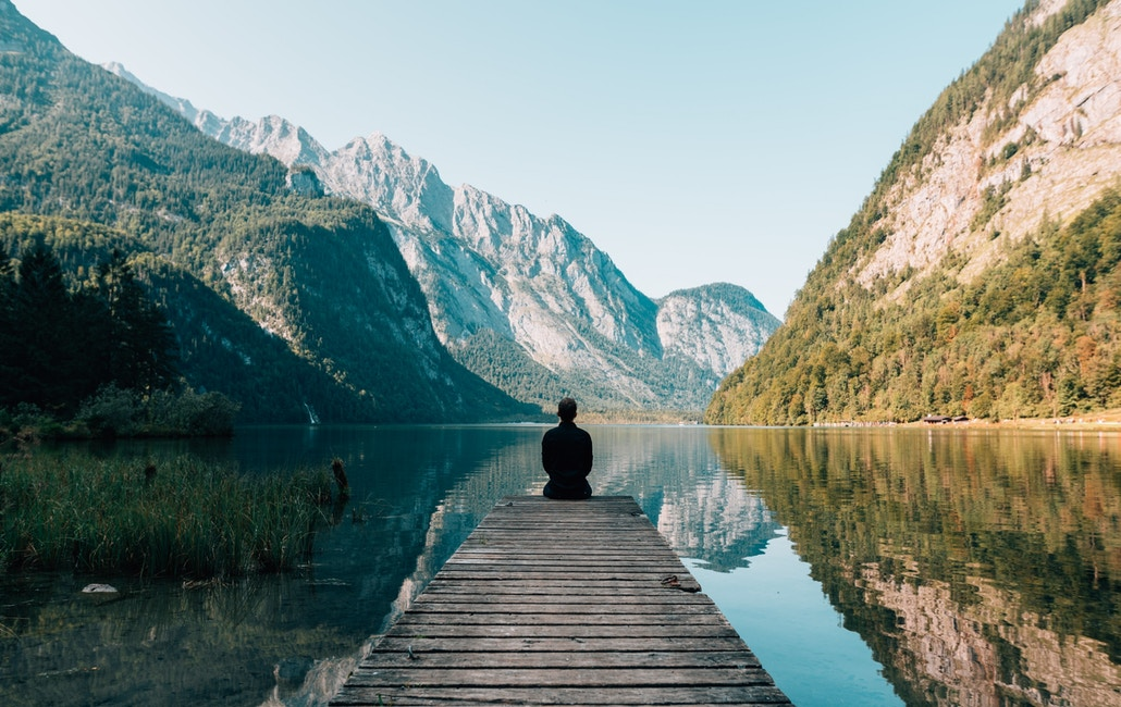 Being alone in nature can provide you with the opportunity to think deeply and reflect on things in silence. You can go for a walk or read a book at a local park or beach.