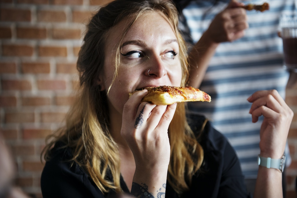 When we are distracted, we often lose sight of how much food we are eating