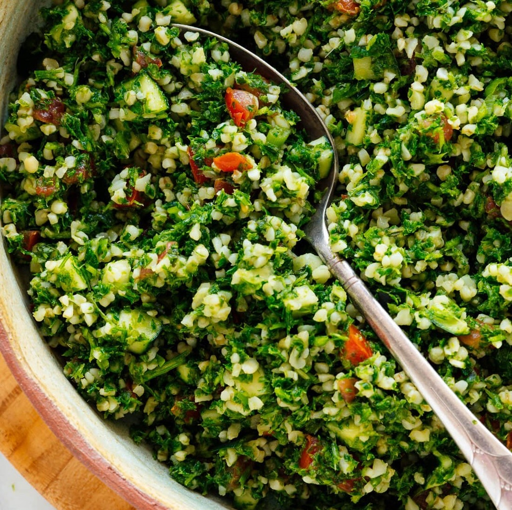 Tabbouleh Salad - National Country Cooking Month