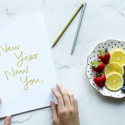 New year resolutions for a healthy year